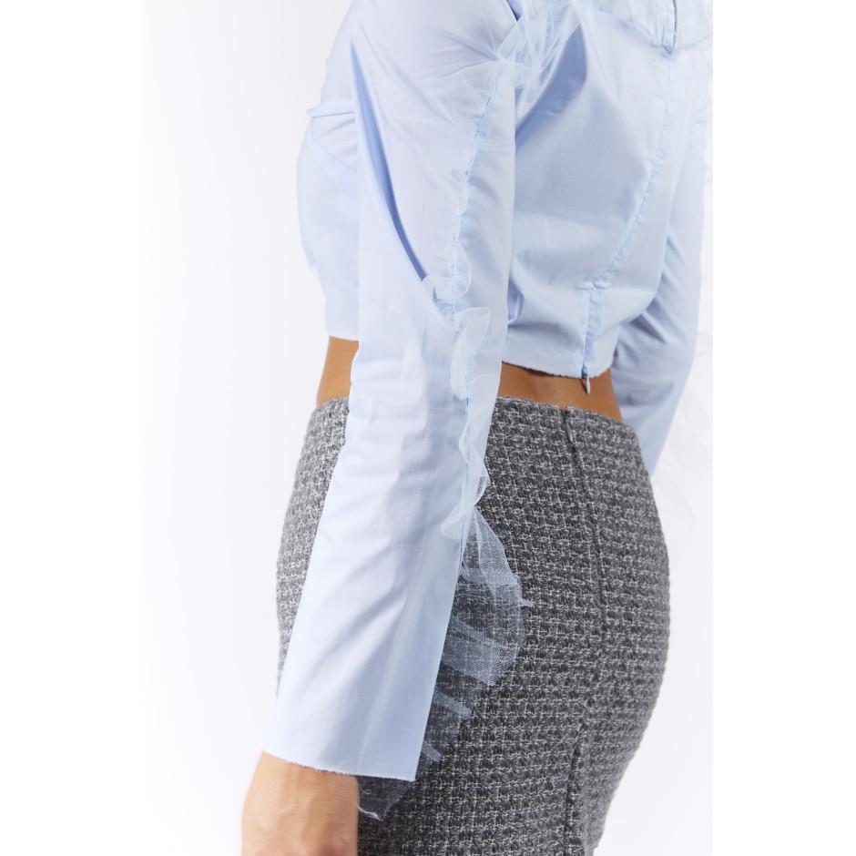 BISOU - blouse bleue