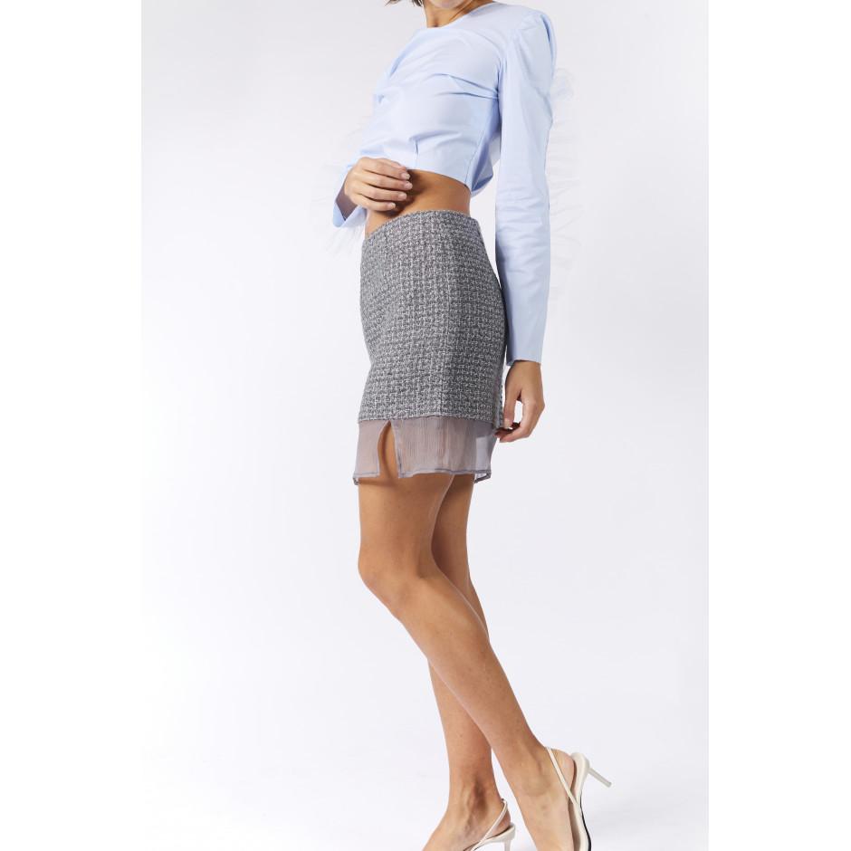 TRÈS PARTICULIER - Grey skirt