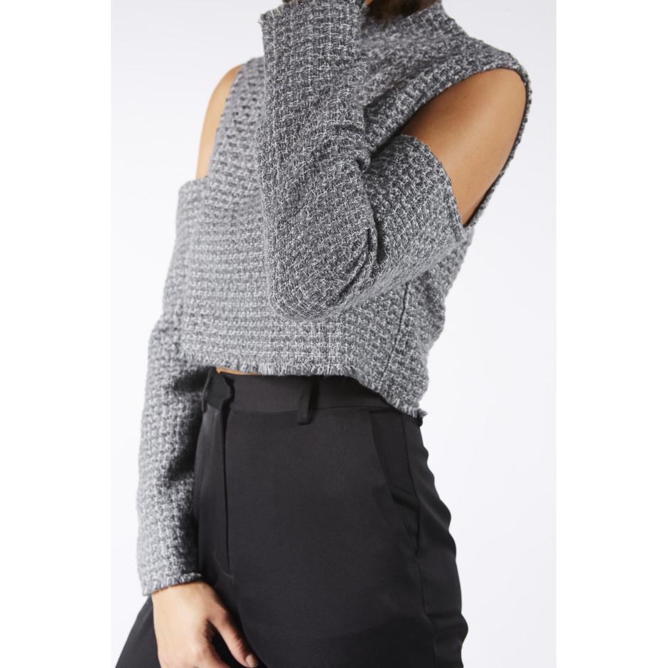 TRÈS PARTICULIER - Grey top