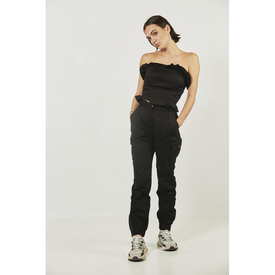 ROSA - pantalon noir