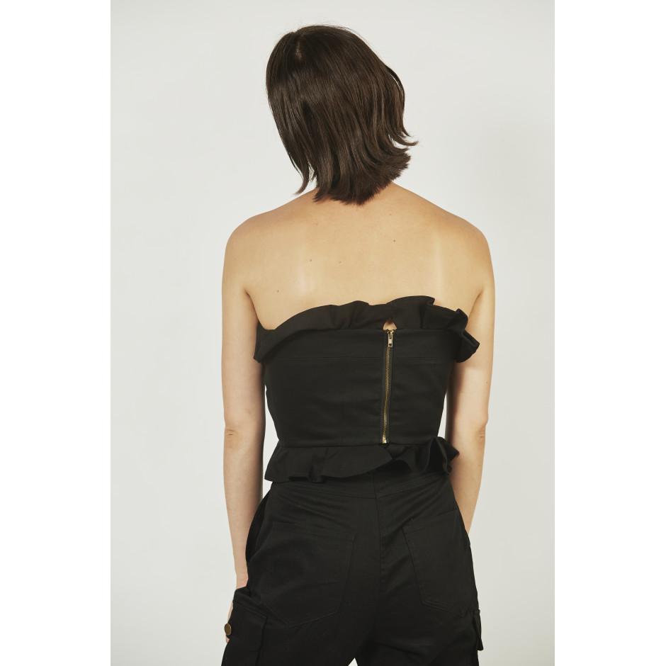 ROSA - bustier noir