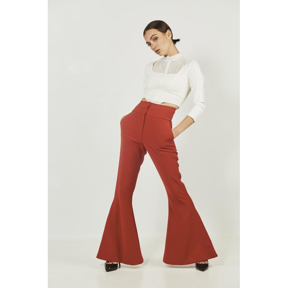 SILENCIO - pantalon rouille