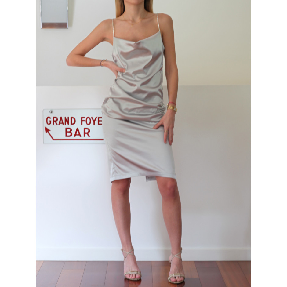 Palace - robe argenté